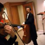 Einspielen für Mozart...