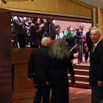 Daniel Barenboim und Martha Argerich auf dem Weg zur Bühne