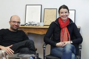 Philipp Stölzl  und Isabel Ostermann - Gespräch Regie-Runde Staatsoper Berlin