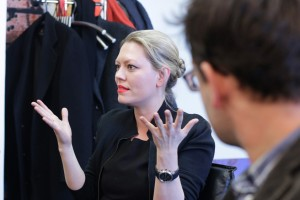 Eva-Maria Höckmayr - Gespräch Regie-Runde Staatsoper Berlin