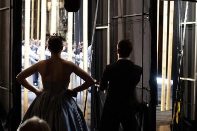 Backstage bei »Tannhäuser« Foto: Thomas Bartilla