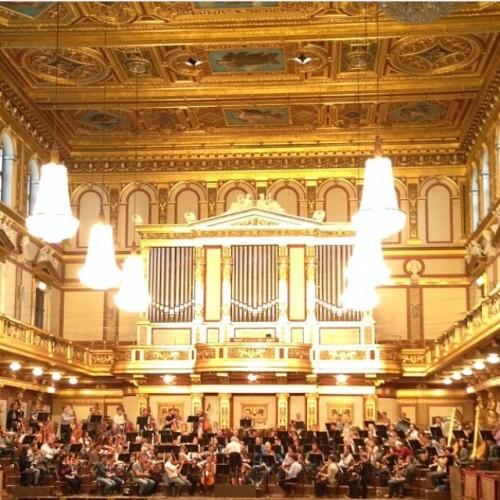 Staatskapelle Berlin probt im Musikverein Wien
