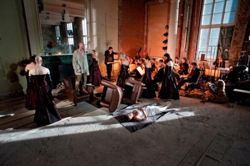 Macbeth im Orchesterprobensaal der Staatsoper Unter den Linden