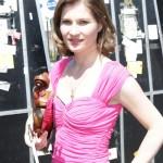 Lisa Batiashvili backstage