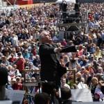 Daniel Barenboim dirigiert...