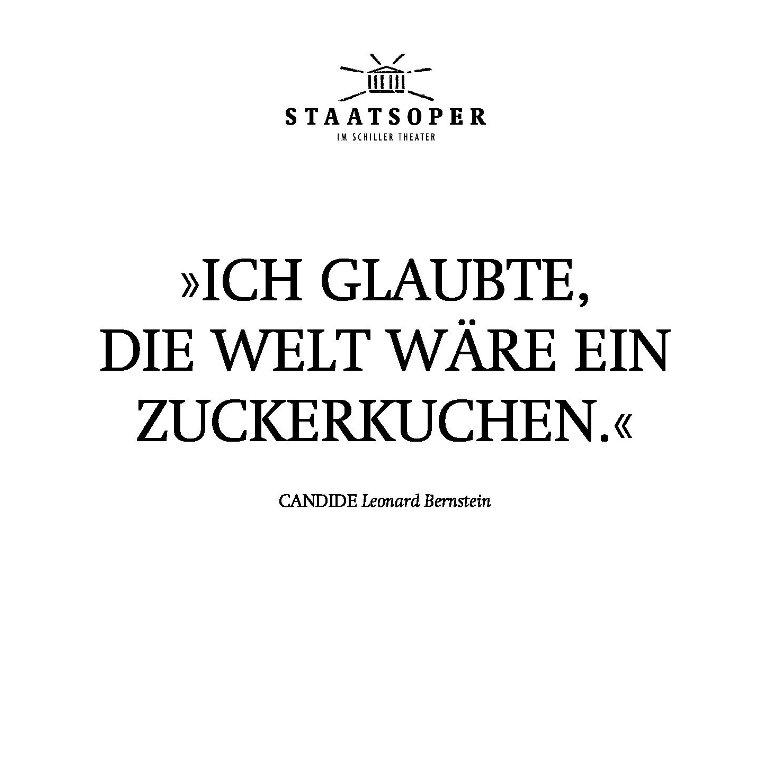 Staatsoper Berlin - Candide