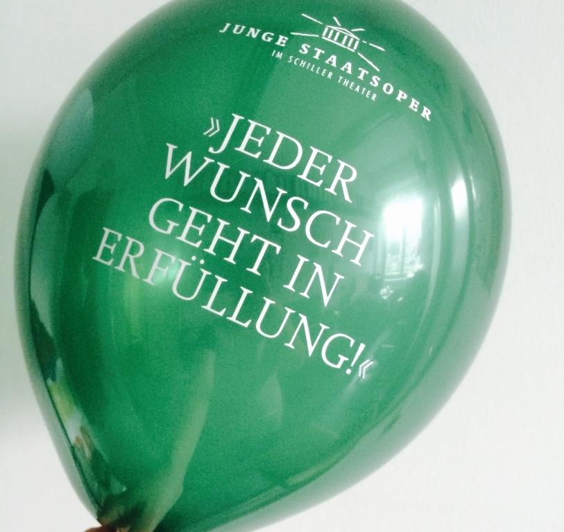 Staatsoper Berlin - Jeder Wunsch geht in Erfüllung