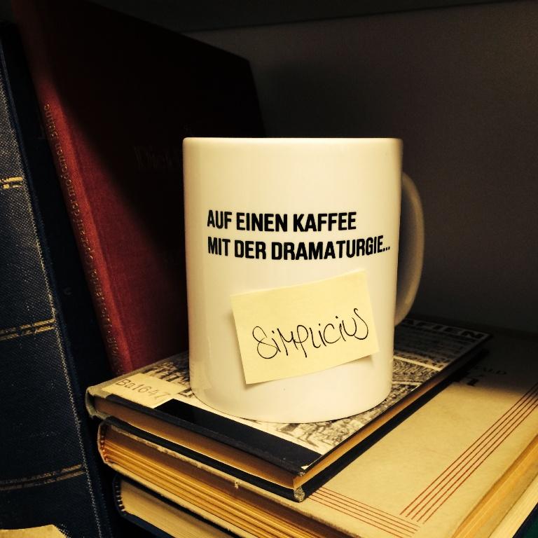 Auf einen Kaffee mit der Dramaturgie - Simplicius