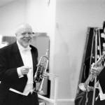 Solo-Trompeter Rainer Auerbach und Mathias Müller
