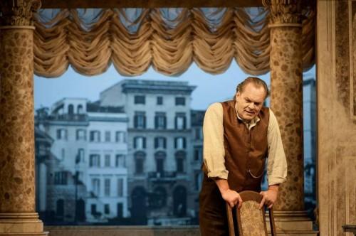 Staatsoper Berlin - Michael Volle als »Scarpia« in der Tosca - Foto: Hermann und Clärchen Baus