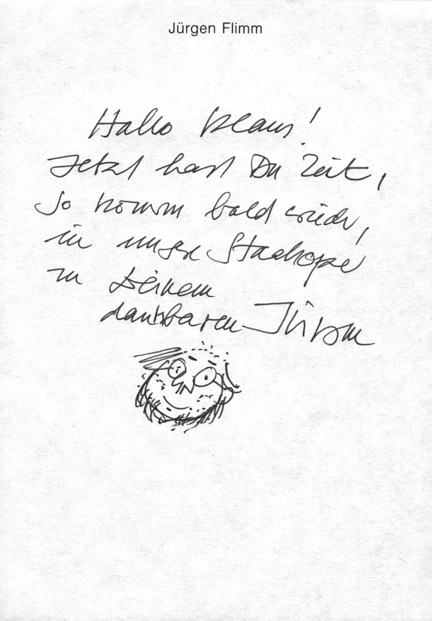 Jürgen Flimm dankt Klaus Wowereit