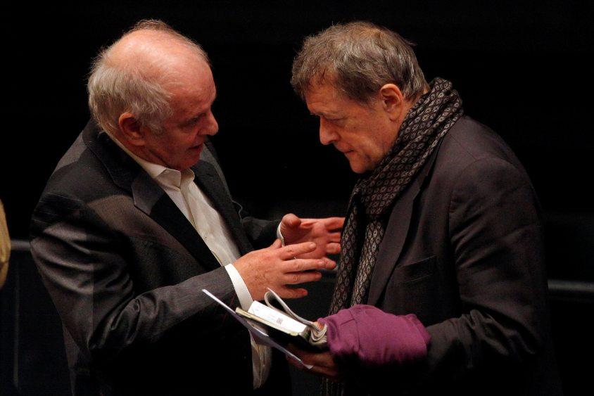 Daniel Barenboim und Patrice Chéreau - Foto: Thomas Bartilla