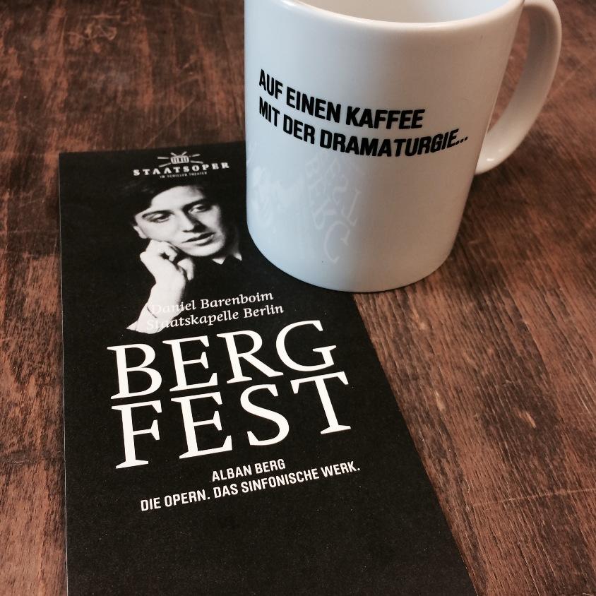 Auf einen Kaffee mit der Dramaturgie - Berg-Fest