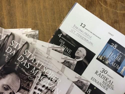 Staatsoper - Das Magazin No. 2