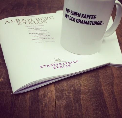 Auf einen Kaffee mit der Dramaturgie