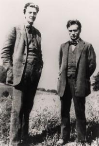 Alban Berg und Anton Webern