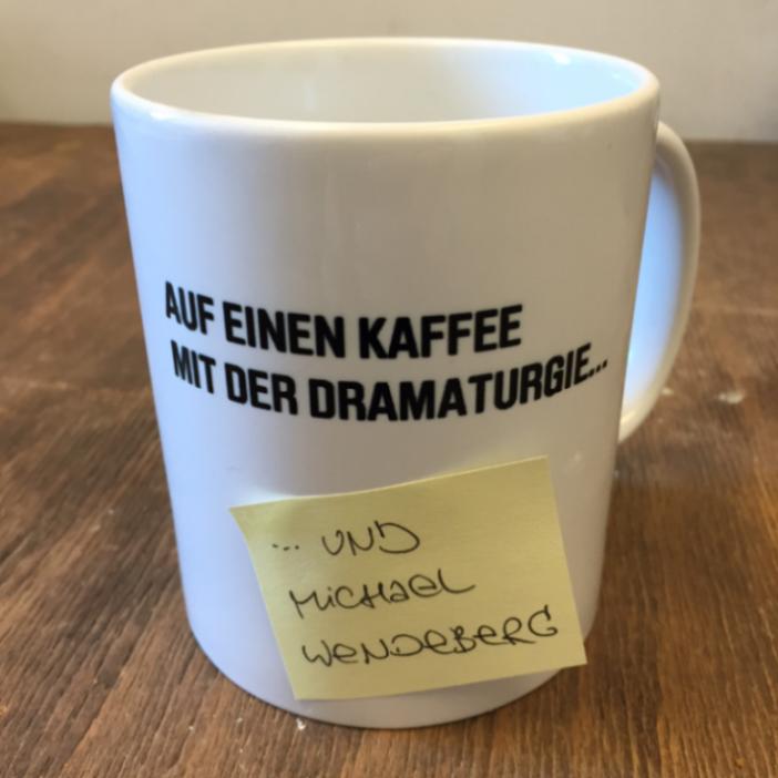 Auf einen Kaffee mit der Dramaturgie - Michael Wendeberg