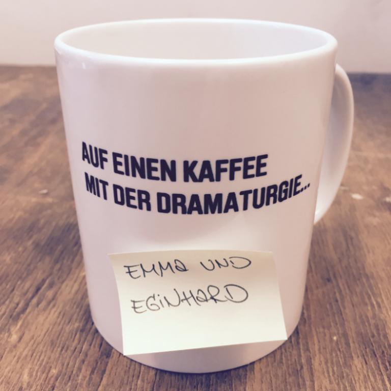 Auf einen Kaffee mit der Dramaturgie - Emma und Eginhard
