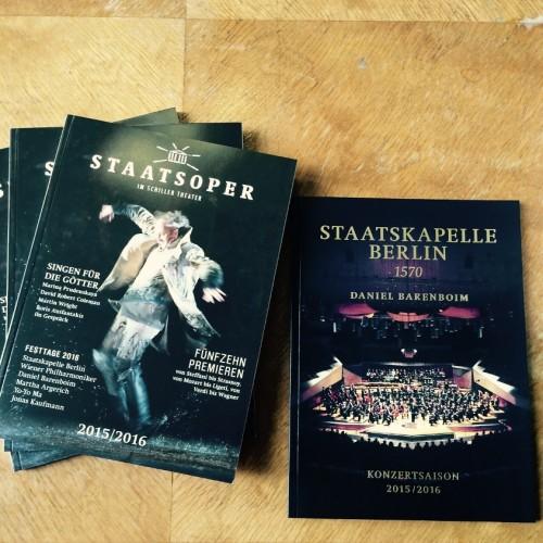 Staatsoper Berlin - Saison 2015/2016