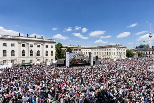 Staatsoper für alle 2014 Foto: DERDEHMEL