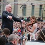 Dann folgte Tschaikowskys Violinkonzert...
