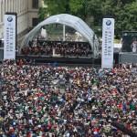 Über 40.000 Zuschauer kamen auch 2015 auf den Bebelplatz, um dieses besondere Konzert zu erleben!