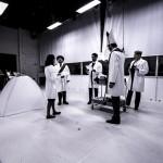 Sónia Grané, Jonathan Winell, Stephen Chambers, Grigory Shkarupa und Annika Schlicht in »Tarquin«