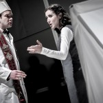 Grigory Shkarupa und Sónia Grané in der Abschlussproduktion des Opernstudios: Ernst Kreneks »Tarquin« (2015)