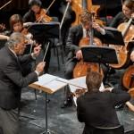 Maestro Zubin Mehta ließ es sich nicht nehmen, auch mit dem talentierten Nachwuchs der Staatskapelle Berlin, der Orchesterakademie, zu arbeiten