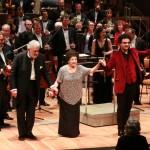 Lucero Tena, Plácido Domingo und Rolando Villazón mit der Staatskapelle Berlin in der Philharmonie