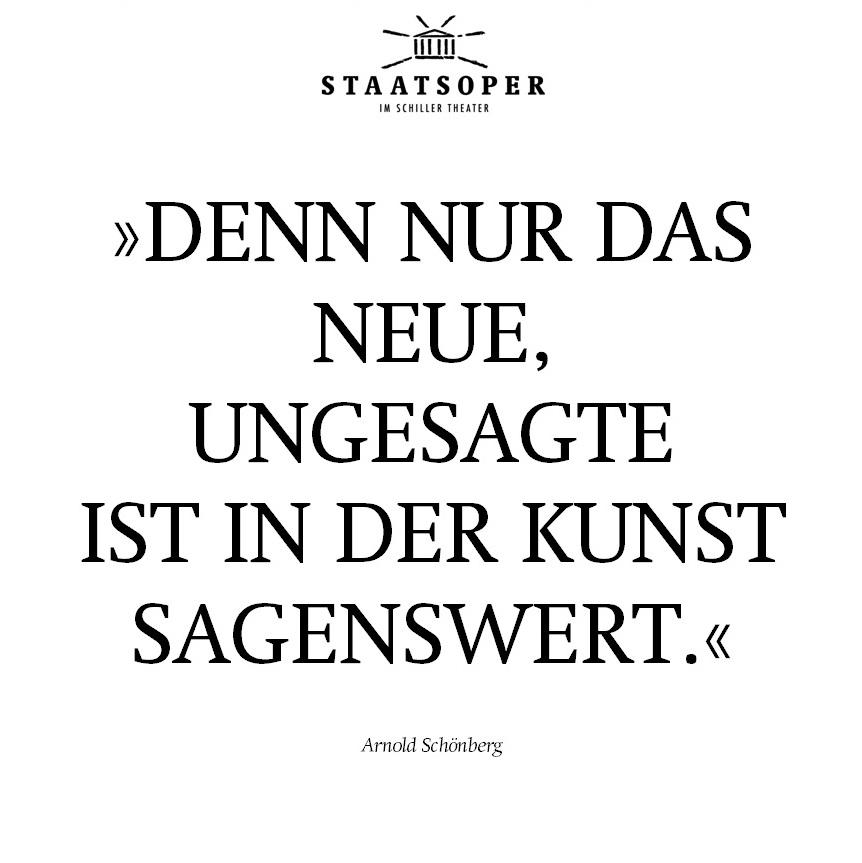 Zwischen den Zeilen - Arnold Schönberg