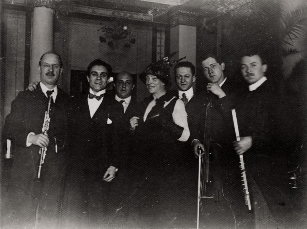 Arnold Schönberg, Choralionsaal, Berlin 1912