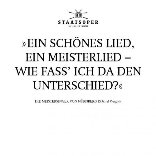 Zwischen den Zeilen - Die Meistersinger von Nürnberg