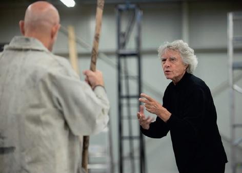 »Ich sag Dir, wie es wird.« Dieter Dorn im Gespräch mit Tom Fox, dem Darsteller des Wotan im Genfer Ring.