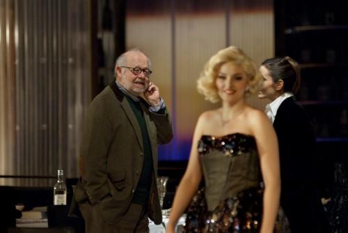 Jürgen Flimm bei der Arbeit an »Il trionfo« - Foto: Hermann und Clärchen Baus
