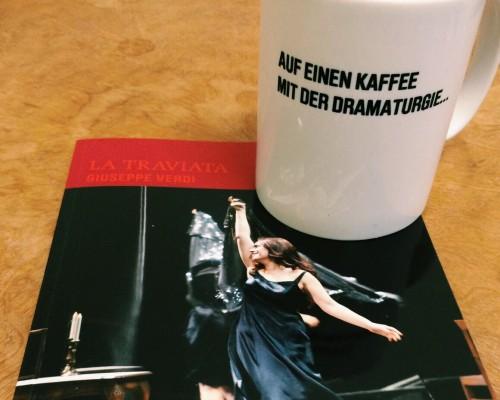 Auf einen Kaffee mit der Dramaturgie - La traviataAuf einen Kaffee mit der Dramaturgie - La traviata