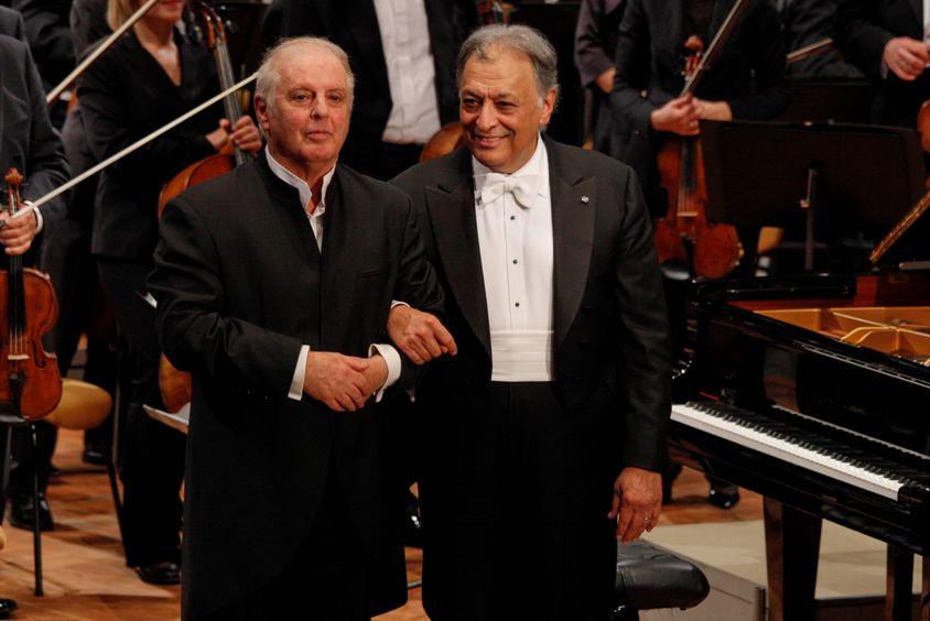 Daniel Barenboim und Zubin Mehta - Foto: Thomas Bartiilla