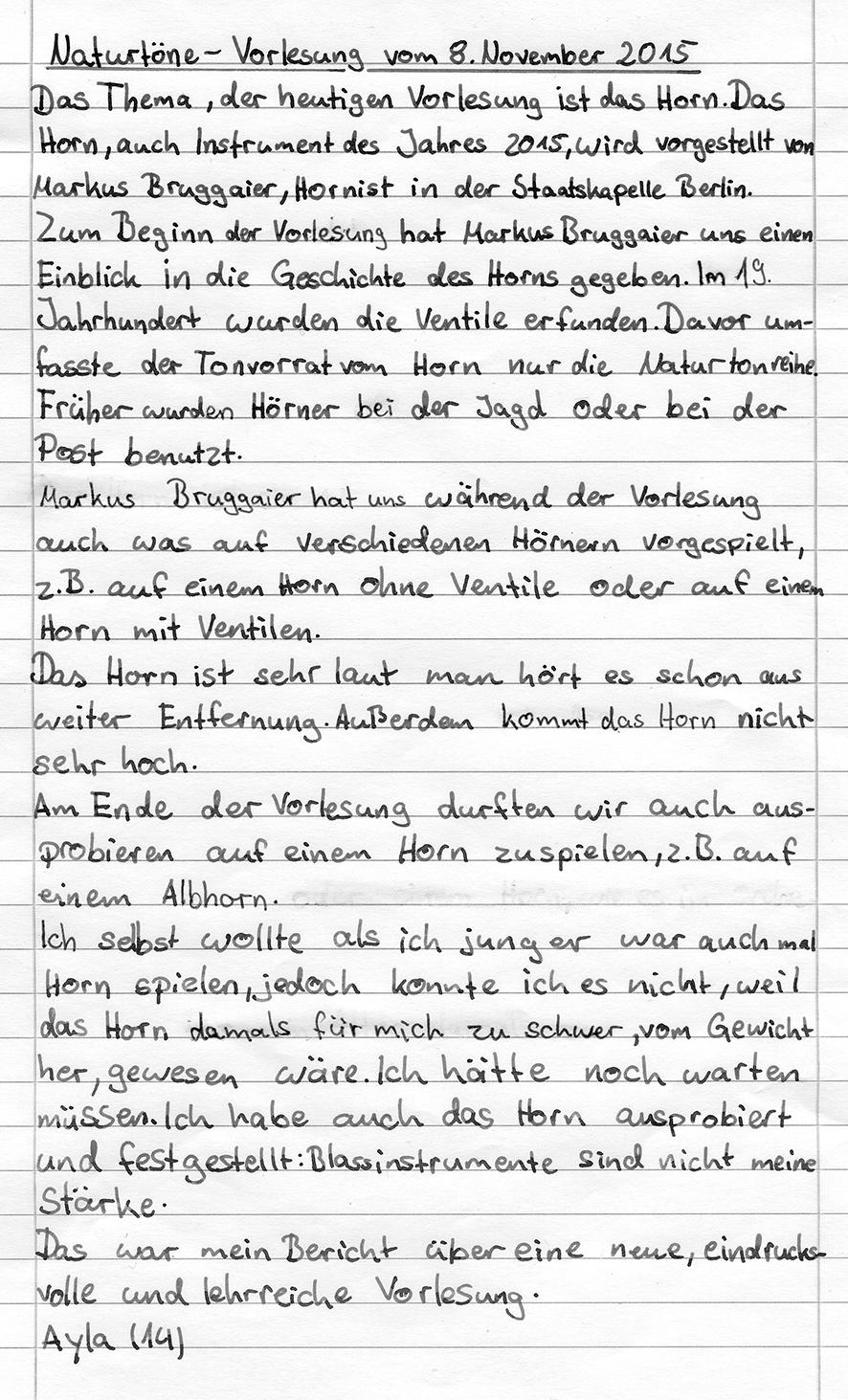 »Naturtöne!« mit Markus Bruggaier am 8. November 2015
