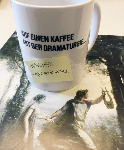 Auf einen Kaffee mit der Dramaturgie - Hörtipps »Orfeo ed Euridice«