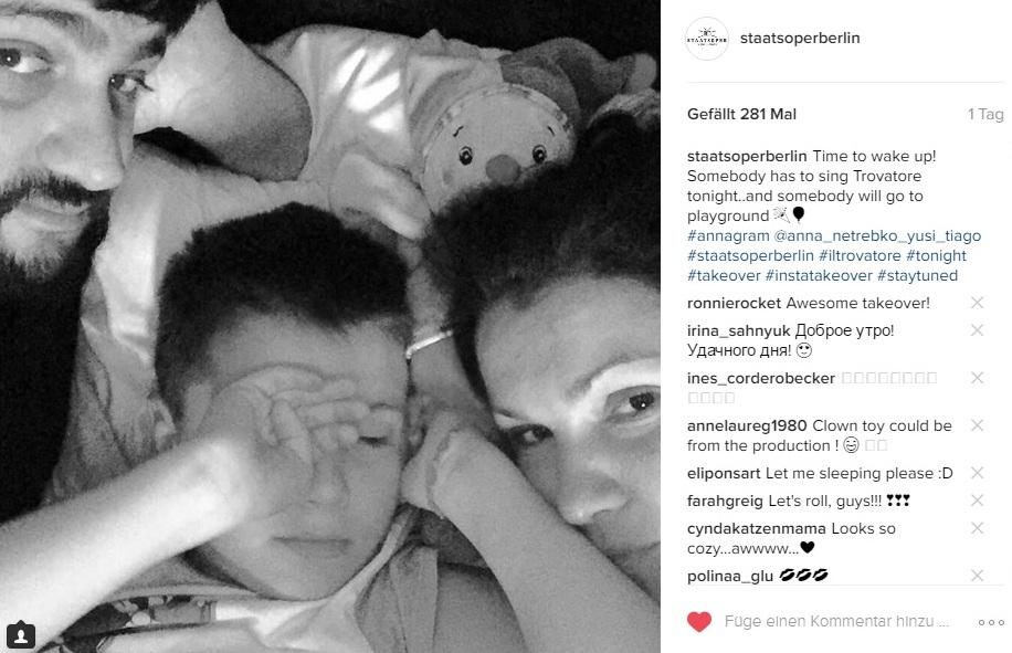 Instagram Takeover - Anna Netrebko