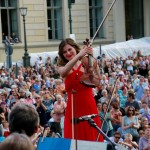 ... bekamen riesigen Applaus für Sibelius' Violinkonzert!