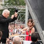 Daniel Barenboim und Lisa Batiashvili ...