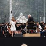 Schon zur Anspielprobe um 16:00 Uhr füllte sich der Bebelplatz mit zahlreichen Zuschauern aus Berlin und der ganzen Welt ...