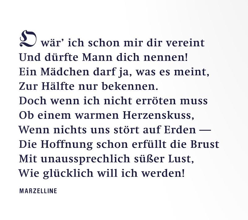 Fidelio - Zitat Marzelline