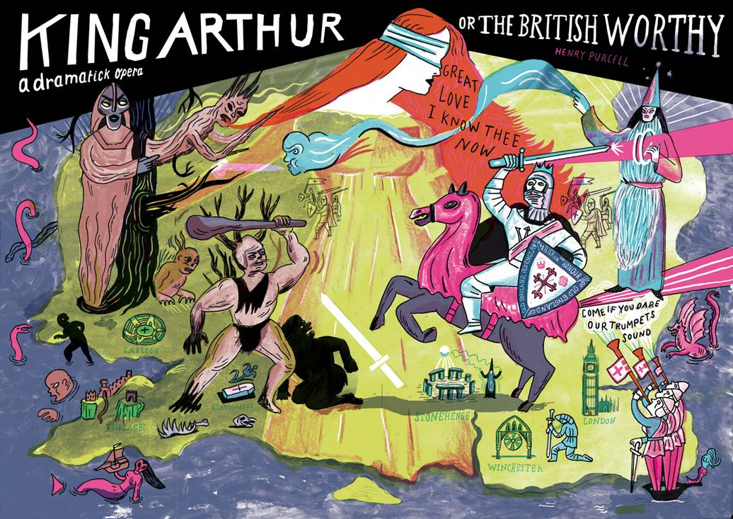 »King Arthur« Illustration von Katia Fouquet