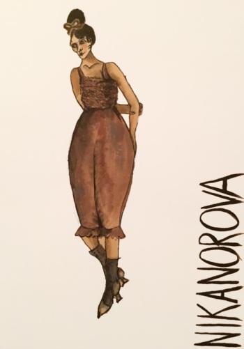 Figurine zu »Manon Lescaut« von Ursula Kudrna