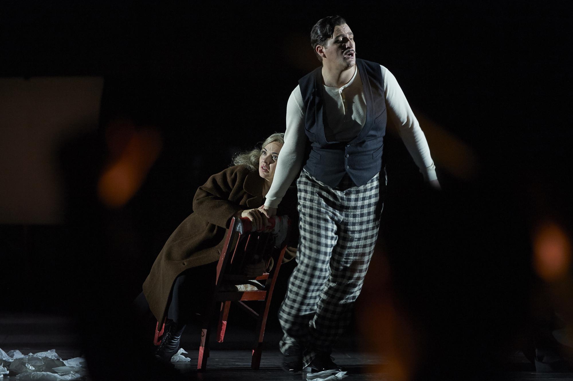 Riccardo Massi als Renato Des Grieux in »Manon Lescaut« © Matthias Baus