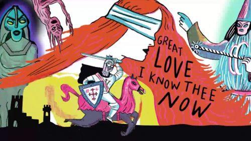 »King Arthur« Illustration von Katia Fouquet