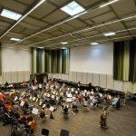 ... und im neuen Orchesterprobesaal in Mitte.