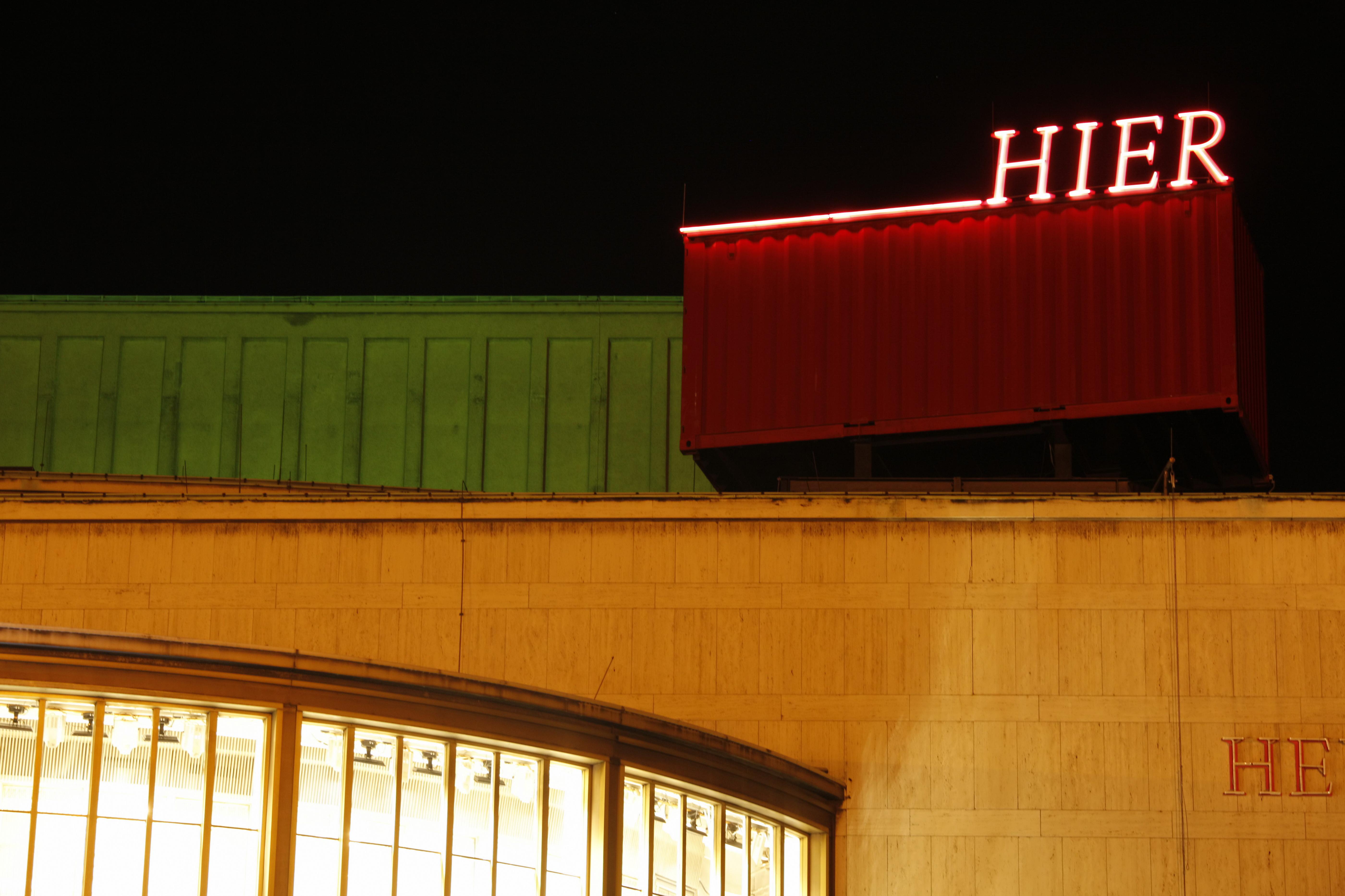 »Hier das Schiller Theater...